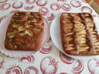 Gâteaux kiwis et pommes