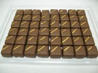 chocolat à la ganache aux framboises