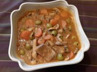 Mon saute de porc aux olives