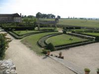 Château de Digoine, jardin à la française
