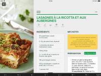 Lasagnes à la ricotta et aux aubergines