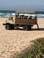 Notre camion dans les dunes il reculait 😱