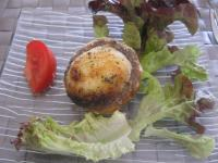 champignon à l'aïoli