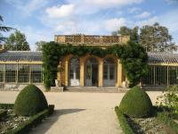 Château de Digoine. La serre