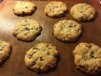 Cookies chocolat caramel/noix de pécan