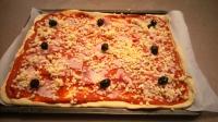pizza avant cuisson