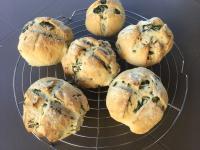 Petits pains aux salicornes