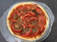 Tarte tomates comté estragon de Joly