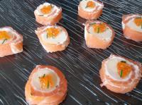 Pat maki saumon coeur de palmier