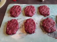 Steaks hachés végétariens