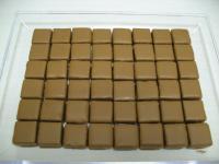 chocolat, ganache caramel /chocolat noir