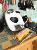 Gâteau roulé à l abricot
