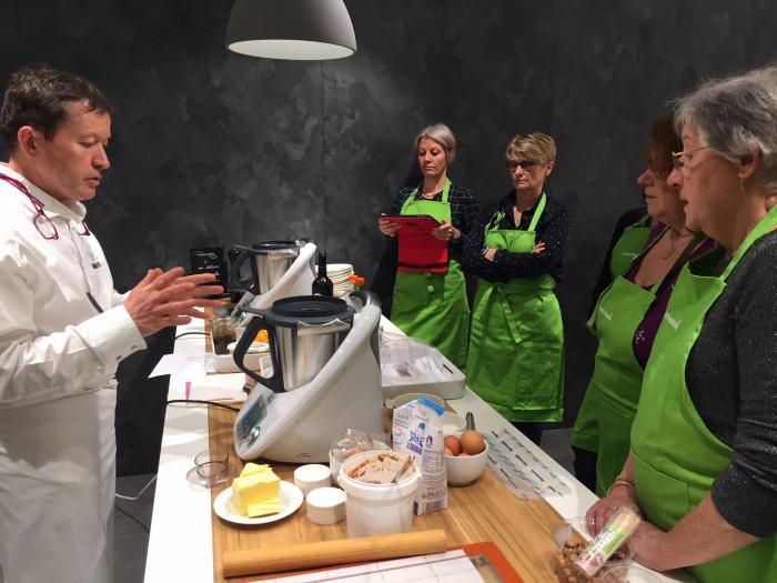 Atelier culinaire avec Eric Robert