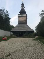 Eglise orthodoxe en bois à Prague
