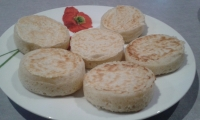 Mes 1ers crumpets