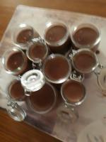 Petit pot au chocolat avec du son d'avoine.