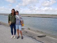 Avec Anaïs à St Valery