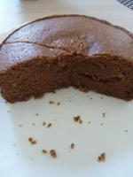 Gâteau praliné et crème de marrons mais sans Momo et au micro ondes