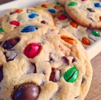 Cookies M&M par ma fillotte