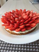 Notre tarte aux fraises favorite
