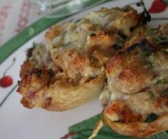 Patates nouvelles farcies au fromage à l'Italienne