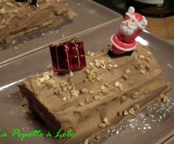 Minis buches chocolat praliné