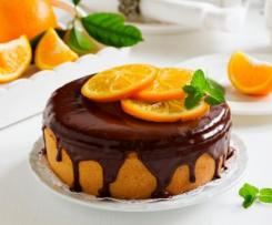 Gateau chocolat-orange.