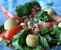Salade d'épinards aux lardons