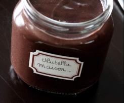 Pâte à tartiner chocolat-noisettes sans huile de palme, sans lait et sans sucre