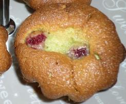 Moelleux pistache-framboise