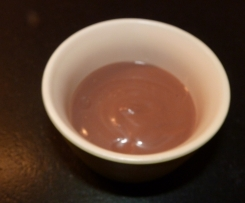 Creme chocolat au tofou soyeux
