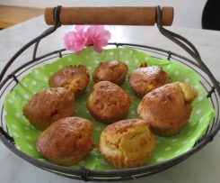 Muffins salés courgette/chorizo/roquefort