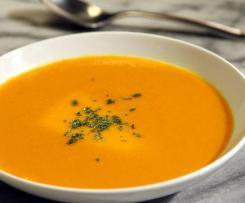 Crémeux de carottes