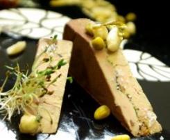 Spécial fêtes - Foie gras confit au sel, nougatine K'ramel au sel de Guérande