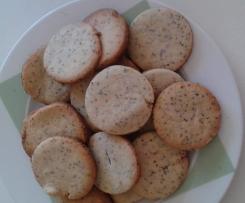 Sablés des prés   (graines de sesame et pavot)