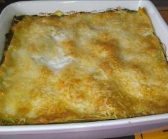 Lasagnes aux épinards