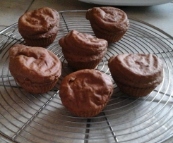 Muffins au chocolat hyper alléger