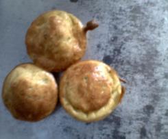 Bouchées apéritives courgettes oignons cumin