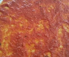 sauce basilic pour pizza