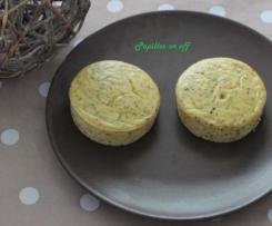 Flans de courgettes au fromage blanc