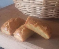 Mini cake moelleux lardons/olives