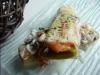 Gratin de poireaux au saumon fumé et champignons