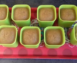 Crèmes au pain d'épices et caramel