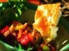 Velouté de poivrons rouges au maïs