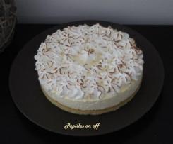 Gâteau nuage au citron meringué
