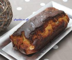 Cake au gorgonzola, miel et raisins secs