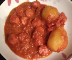 "Saucisses au curry "" Currywurst """