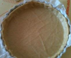 Pâte brisée sans beurre
