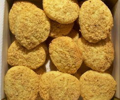 Sablés pois-chiches et noisette sans gluten