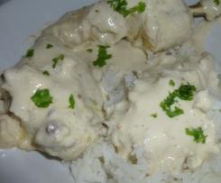 Cuisses de poulet crème asiatique